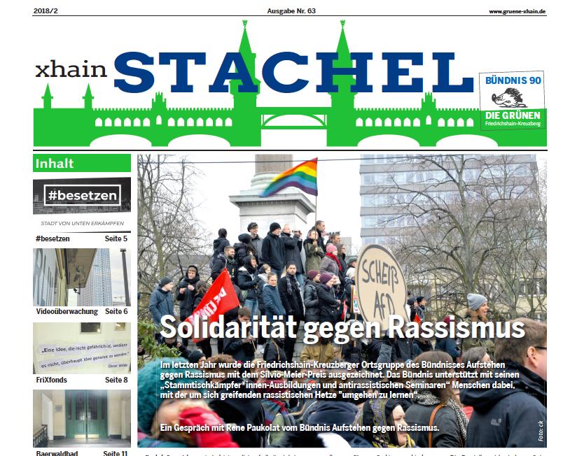 Stachel Ausgabe 63