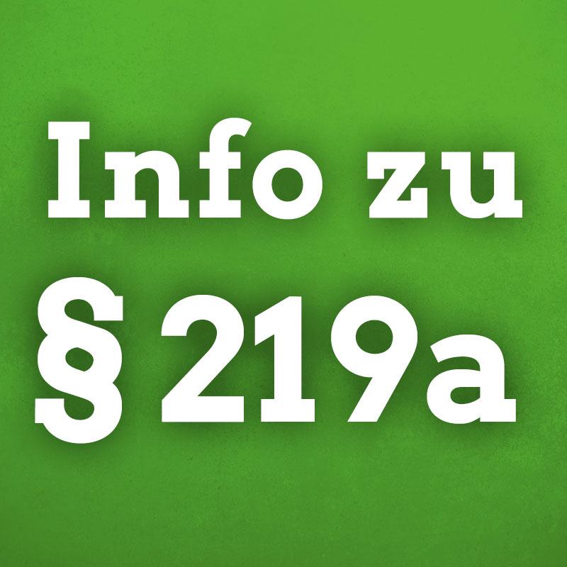 Grüne Xhain Info zu § 219a