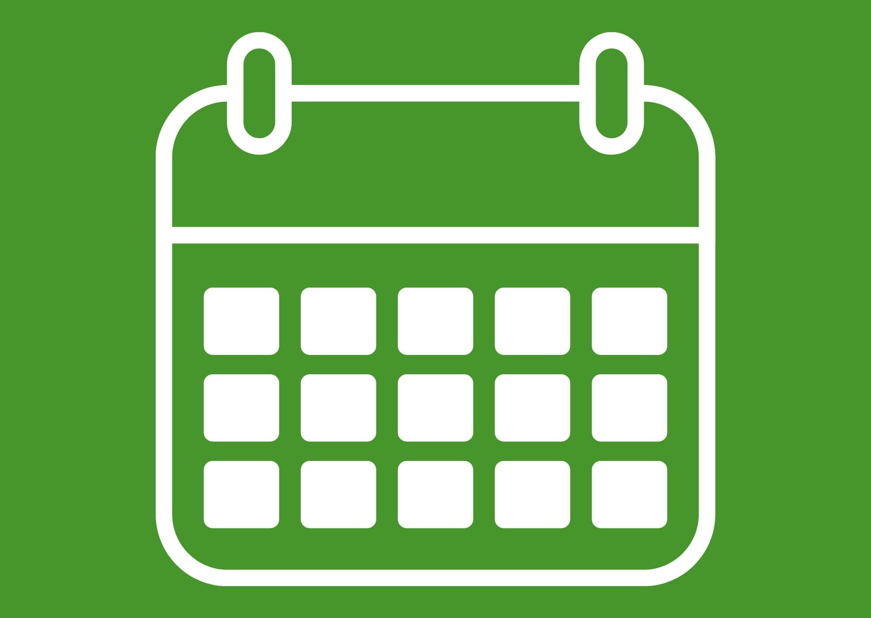 Kalender_grün